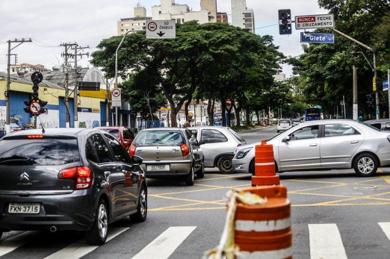 22 04 2017 SAO PAULO SP CIDADES SEMAFORO Semaforos quebrados na Av Rio Branco.  FOTO GABRIELA BILO/ ESTADAO
