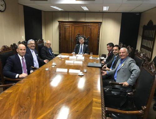 ABEETRANS SE REÚNE COM MINISTRO DOS TRANSPORTES PARA DISCUTIR SEGURANÇA VIÁRIA