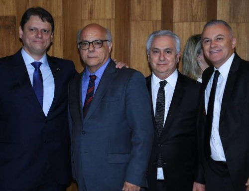 ABEETRANS PARTICIPA DA POSSE DO MINISTRO DE INFRAESTRUTURA