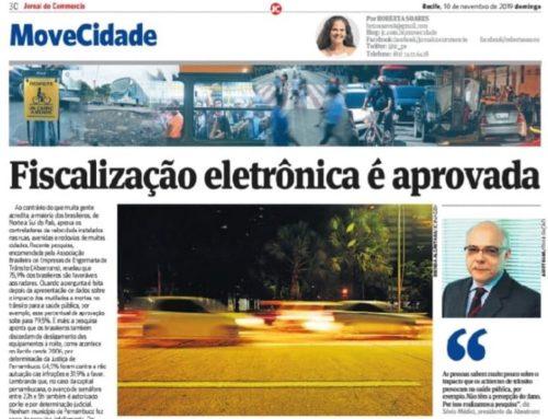 Jornal do Commercio de Recife divulga pesquisa da Abeetrans