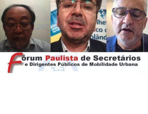 Participação da Abeetrans no Fórum Paulista de Secretários de Mobilidade