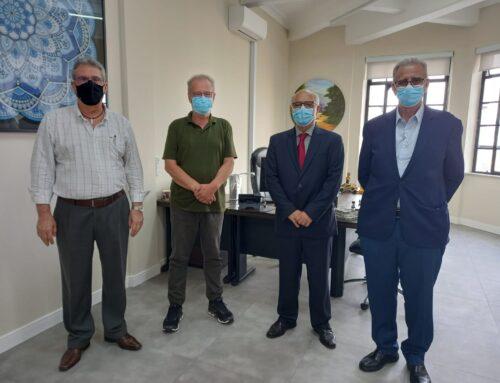 ABEETRANS e ABNT visitam o secretário municipal de Mobilidade e Trânsito de São Paulo.